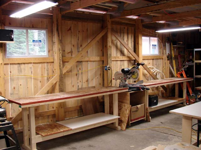 shop workbenches