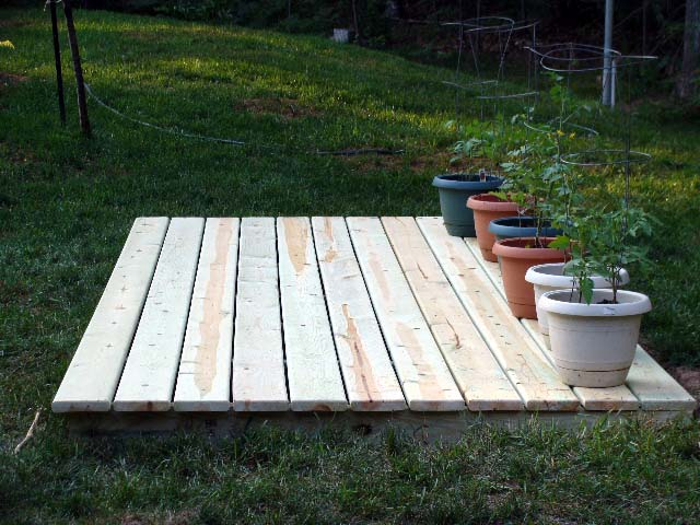 Woodwork How To Build A Wood Deck Over Dirt Pdf Plans