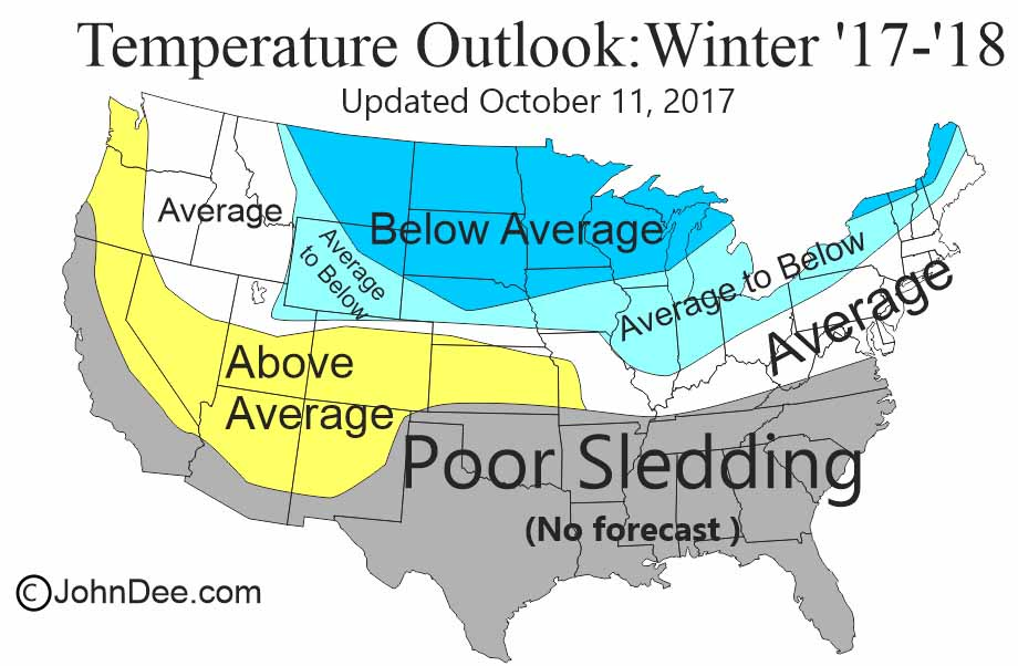 of the northeast us meaning that i believe the winter will be a bit cooler than average with the snowfall to running average to above average